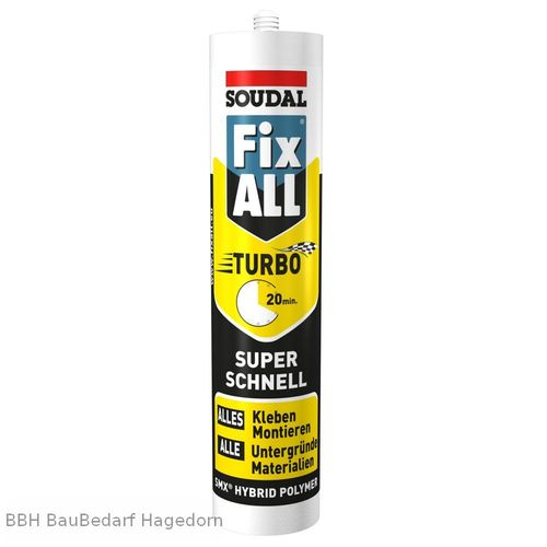SOUDAL Fix All Turbo, weiß (290 ml)
